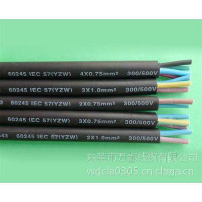 万都橡胶线(在线咨询) SJOW耐磨线 耐磨线厂商