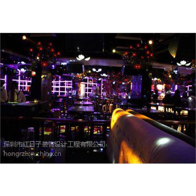 深圳坂田酒吧装修设计就找红日子