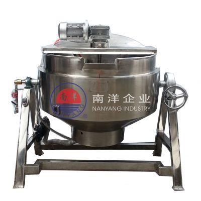 广州南洋30-200L煤气加热滚筒炒锅规格齐全