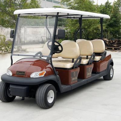 EXCAR6座电动高尔夫车EXCA进口配置 爬坡能力强