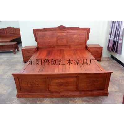 供应红木家具汉宫大床床