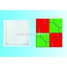 供应鸿鑫生产便道砖塑料盒,水泥路面彩色花砖模具