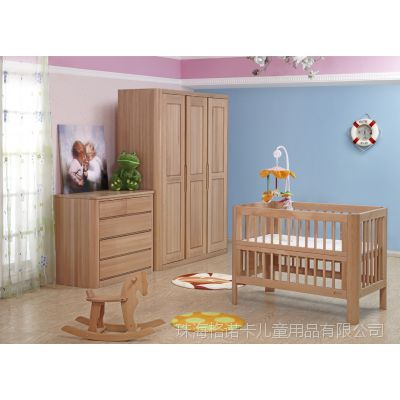 高档榉木婴童用家具婴儿床橱柜好孩子必备相片特价促销多功能