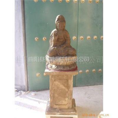 供应仿旧佛像雕塑,大理石雕刻,石料工艺品