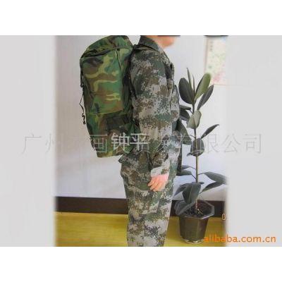 供应01携行具军工背囊 前运包 手提袋 07从林迷彩背囊