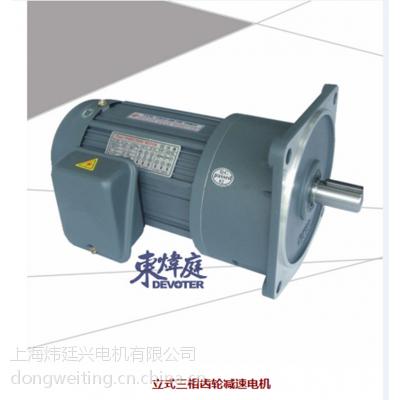 供应东炜庭立式齿轮减速电机-GV-22-200-90S