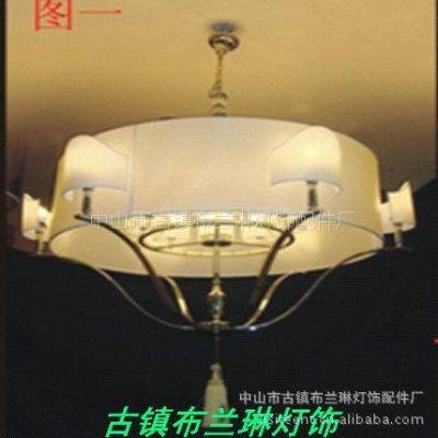 供应布兰琳-中式现代风格布艺吊灯