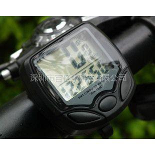 供应新款自行车码表 无线码表 里程表 速度表 无线单车码表 升级版