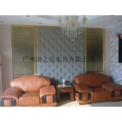 广州酒店软包订做现代皮制款