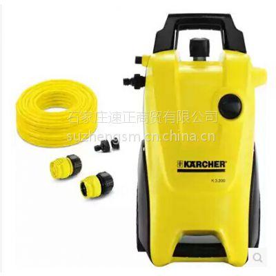 德国凯驰K3.200 进口家用220V高压洗车机 水冷自吸泵洗车器高压清洗机