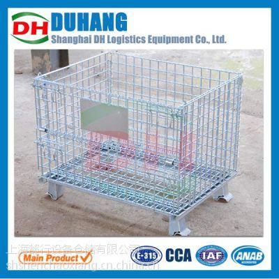 供应标准仓储笼、蝴蝶仓储笼、仓库笼、铁笼子