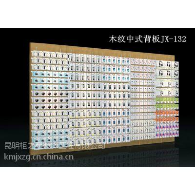 定制俊翔中欧式卖场展示陈列靠墙背板背柜优质密度板优等品