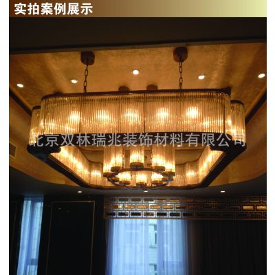 供应定制酒店包间新款新中式吊LED灯