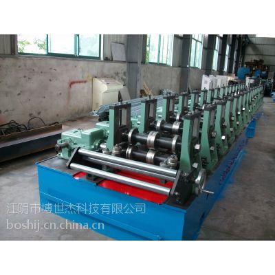 供应热镀锌冲孔脚手板钢制踏板成型机设备