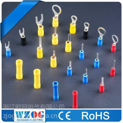欧冠冷压端子,冷压端头,厂家直销,一件代发 ROHS,CE证书齐全