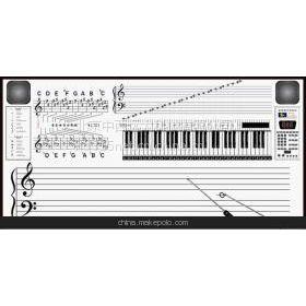 数码立体声音乐电子示教板价格 WJ901-88