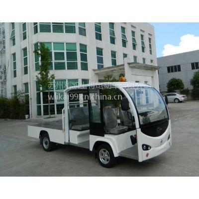 供应4人座货箱电动车运输车辆 社区城市管理5人座电动搬运车