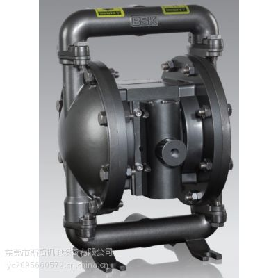 美国BSK气动隔膜泵、铸钢外壳隔膜泵、耐腐蚀隔膜泵、化工隔膜泵