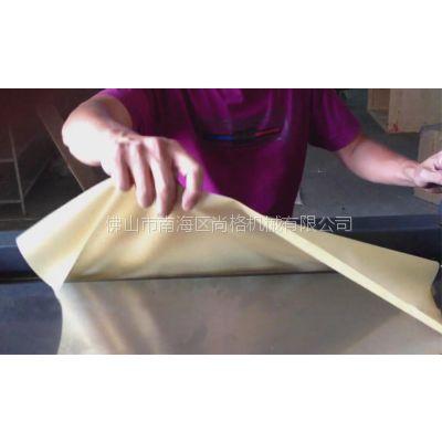 供应厂家供应 橡胶片专用片皮机/剖层机 可片薄至0.8mm