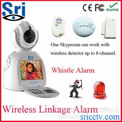 供应高清监控摄像机 红外高清网络电话摄像机 wifi远程监控摄像头