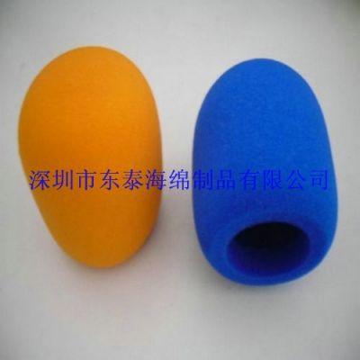供应厂家直销进口AKG话筒套,采访录音海绵防风罩,唱歌话筒海绵套