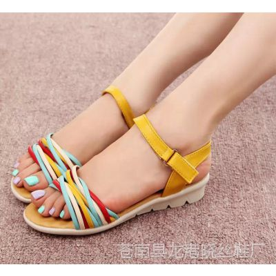 2015夏季新款女士拖鞋女式凉拖休闲女鞋女凉鞋子#J美凯龙-668-A23