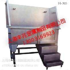 不锈钢阶梯移门水槽,长1200宽690高900,配有防滑踩脚网垫,配有多功能高压冲水龙头和可调节冷热