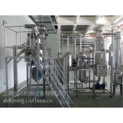 供应RY-NSG-100上海锐元供应中药提取浓缩机组