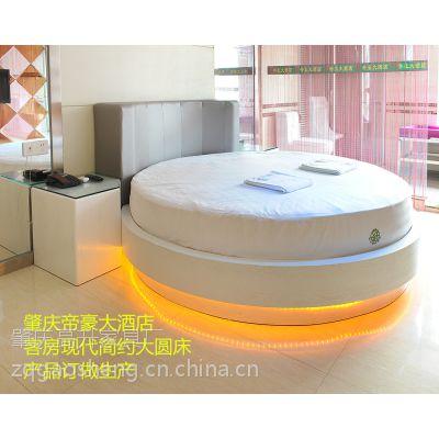 供应特色酒店大圆床、 酒店客房床、双人床