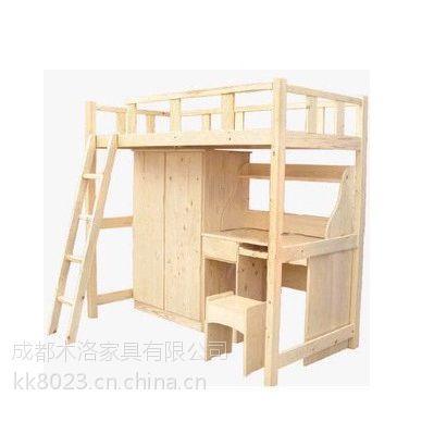 都江堰公寓床,松木原材 经久耐用