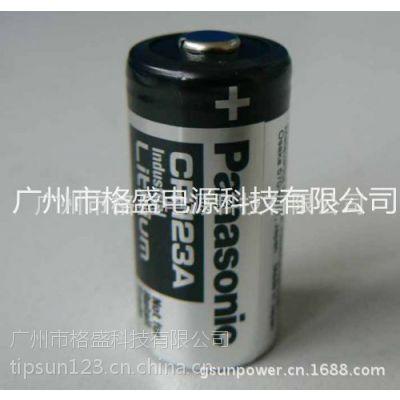 供应代理销售panasonic松下CR123A电池 黑色