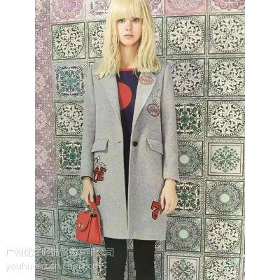 蔓诺蒂冬季时尚连衣裙外套新款组合品牌折扣女装走份批发