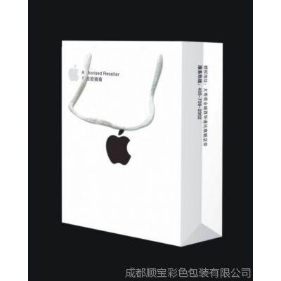 供应专业定制2014款苹果手提袋厂家