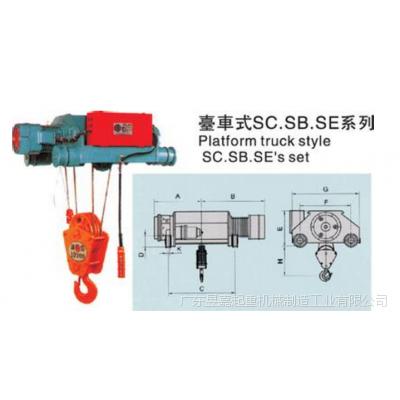 供应台湾永升钢丝绳电动葫芦SKL-500