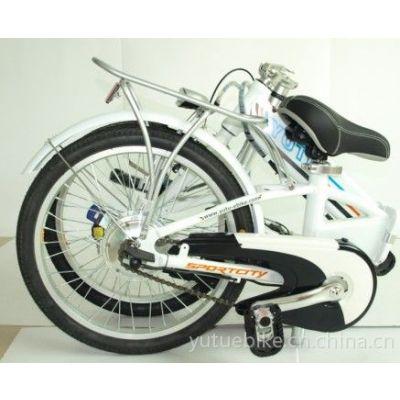 供应愉途电动车祥云二代20寸铝合金车架折叠锂电电动车电动自行车