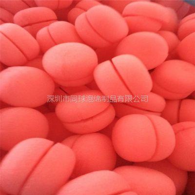60mm蘑菇型海绵卷发神器 彩色美发用品工具 现货供应