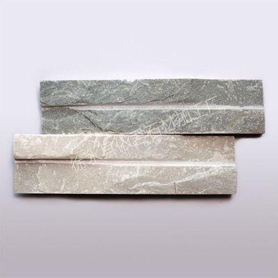 供应天然板岩装修装饰室内外墙文化石 优质卫浴墙面开槽文化石材
