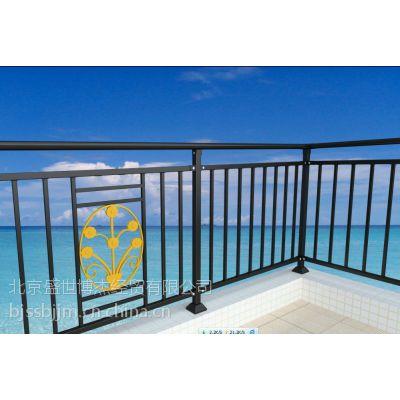s河南省周口市 锌钢阳台栏杆,玻璃阳台栏杆,组装式阳台栏杆,q195锌钢图片