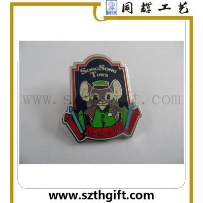 深圳同辉供高档珐琅徽章 锌合金压铸高品质徽章制作生产