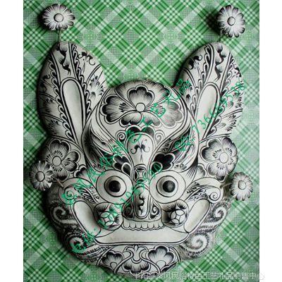 陕西宝鸡民俗特色纯手工泥塑彩绘挂饰品批发 中国非物质文化遗产
