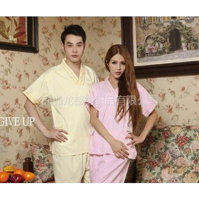 供应桑拿服定做,纯棉桑拿服厂家,特价男女桑拿服,品牌桑拿服