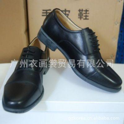 供应07 WJ常服皮鞋 3515强人正品春秋低腰常服三接头皮鞋