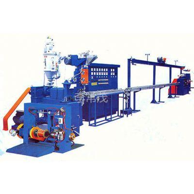 供应电线押出机,铁氟龙挤出机,极细电子线铁氟龙挤出机电线生产设备