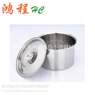 不锈钢味盅带盖/不带盖/调味瓶调味盒,调料盒HC