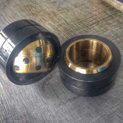 工程机械专用轴套,双金属耐磨套,板钩衬套,液压缸耳环衬套,掘进机铜套图片