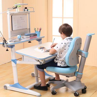 优沃 智能线控儿童学习桌椅套装 可升降小学生多功能写字台书桌