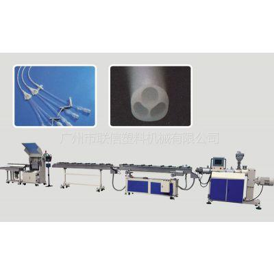 供应供应PVC/PU/CA/PE精密医疗用管挤出机