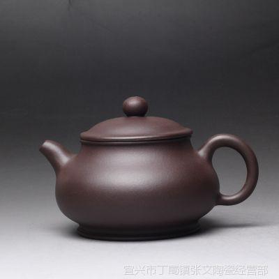 一公紫砂狂欢11.11宜兴正品原矿紫砂泥手工制作茶壶 紫泥 容天壶