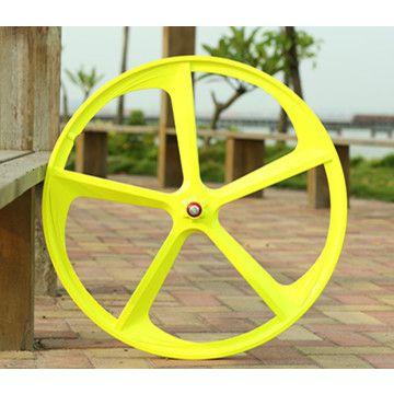 厂家直销死飞自行车轮毂 镁合金一体轮 死飞700c 轮组 死飞车轮毂