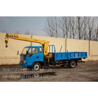 二手随车吊三石牌吊臂3吨-5吨价格优惠
